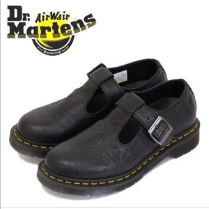 NWT Dr.Martens Polley-Embossed  Mary Jane